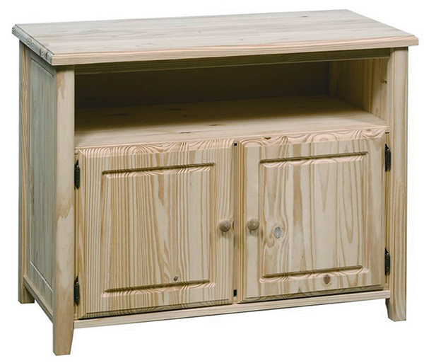 Pine Entertainment Cabinet Finish And Save