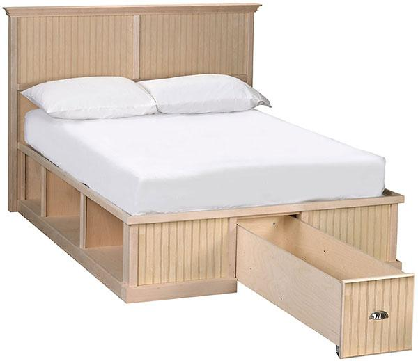 Maple Roma Cubby Bed With Headboard Finish And Save